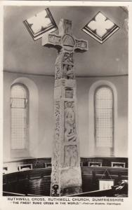 RP; Ruthwell Cross, Ruthwell Church , DUMFRIESSHIRE , Scotland , 20-40s