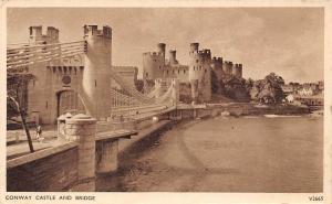 Conway Castle and Bridge Chateau Pont