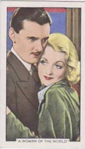 Gallaher Cigarette Card Shots From Famous Films No. 47 A Woman Of The World