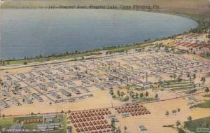 Florida Camp Blanding Hospital Area Kingsley Lake 1943 Curteich