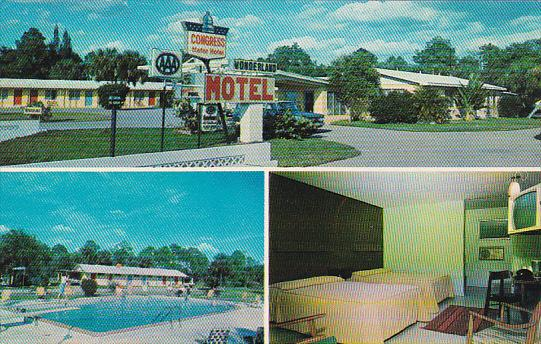 Wonderland Motel Pool Fort Myer Florida