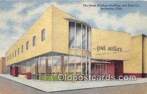 Great Northern Building & Loan Co Barberton, Ohio, USA Postcard Post Card Bar...