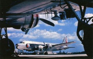 Eastern Airlines - DC-4    (aviationcards.com)