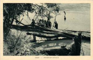 Navigation Difficile, Gabon,  Africa, 1900-1910s