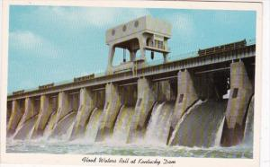 Kentucky Dam Spillways Open