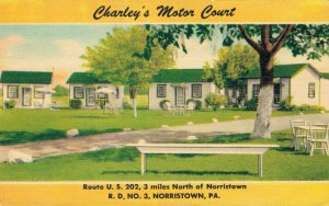USA Norristown Pennsylvania Charley's Motor Court 03.31