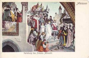 Verlobung des Prinzen Albrecht, Meissen, Saxony, Germany, 00-10s