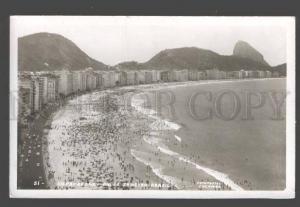 090324 BRAZIL Copacabana Rio de Janeiro Vintage photo PC