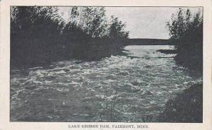 Minnesota Fairmont Lake George Dam
