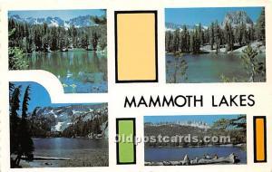 Emerald, TJ, Barrett and Horseshoe Mammoth Lakes, California, CA, USA Unused