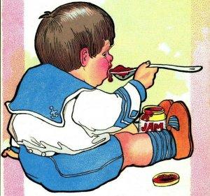 Nursery Don't Raphael Tuck Don't Put Off to Tomorrow 1910s Unused Postcard UNP