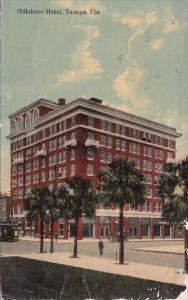 Florida Tampa Hillsboro Hotel 1913