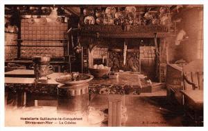 19101  Dives-sur-mer Hostellerie Guliiaume le Conquerant  Interior