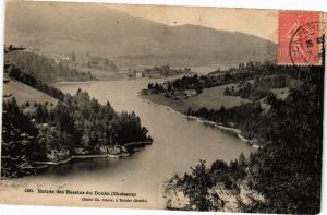 CPA Entrée des Bassins du DOUBS (Chaisson) (183206)