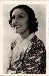 CPA GABY MORLAY . Film Star Cinema (467191)