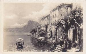 RP, Gandria Del Pittore Usadel, Lago di Lugano (Ticino), Switzerland, 1920-1940s