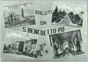 85814 - CARTOLINA d'Epoca -  MANTOVA provincia -  San Benedetto Po  1964