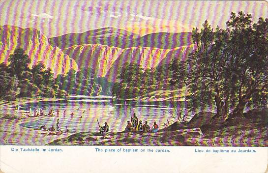 Jordan The Place Of Baptism On The Jordan