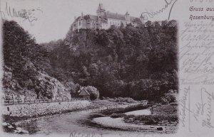 Gruss aus Rosenburg , Austria , 1906
