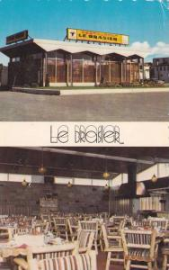 2-views,  Le Brasier Restaurant,  Rimouski,  Quebec,  Canada,  PU_1988