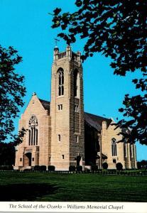 Missouri Point Lookout School Of The Ozarks Wiiliams Memorial Chapel