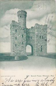 Bancroft Tower Worcester Massachusetts 1910
