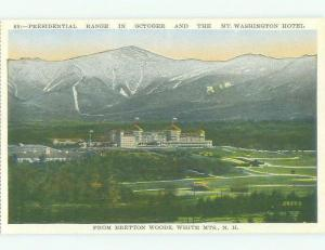 W-Border MOUNT WASHINGTON HOTEL White Mountains New Hampshire NH HQ4658