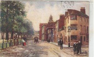 Charles E.Flower. Regent Grove.Leamington. Horsecart Tuck mOilette PC # 1672