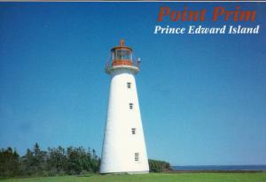 Lighthouse , Point Prim , P.E.I. , Canada , 60-80s