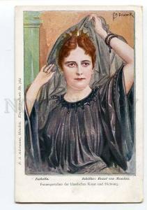 264606 SCHILLER Braut von Messina by DOUBEK Old Art Nouveau PC