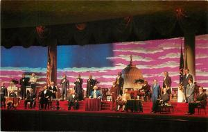 Hall of the Presidents Liberty Square 36 Pres Walt Disney World Florida Postcard