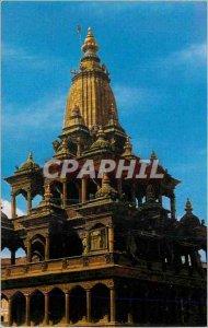 Modern Postcard Krishna Mannir Patan (Latitpur)
