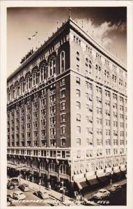 Washington Spokane Davenport Hotel Real Photo RPPC