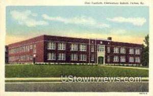 Carr Institute Elementary School Fulton KY Unused