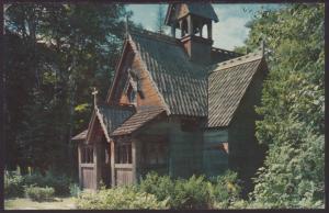 Biynton Chapel,Bailey's Harbor,WI Postcard BIN