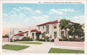 Florida A Beautiful Spanish Style Residence In Florida