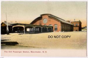 Old Passenger Station, Manchester NH