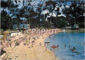 Postcard Modern Ile aux Moines (Morbihan) Brittany Colors in La Grande Plage ...