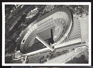 1952 Summer Olympics Helsinki Olympic Stadium RPPC