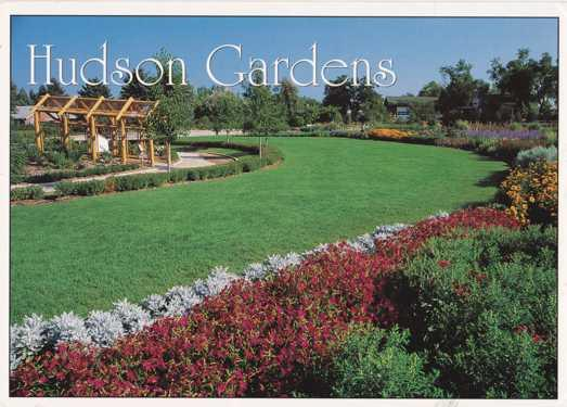 Charmant The Oval Garden At Hudson Gardens   Littleton CO, Colorado   Pm 1997
