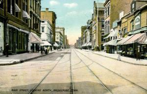 CT - Bridgeport. Main Street Looking North