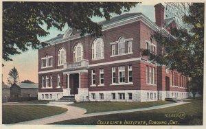 COBOURG , Ontario , Canada , 00-10s ; Collegiate Institute