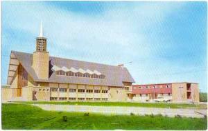 L' Eglise St-Rene Goupil Church, Gatineau, Quebec, Canada, Chrome