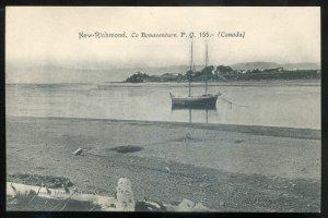 dc354 - NEW RICHMOND Quebec Postcard 1900s Panoramic View by Garneau