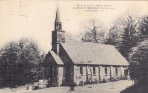 Dr EH Sloop Chapel, Crossnore School Campus, Crossnore, North Carolina, 1964 PU
