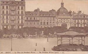 The President Wilson Square, Brest (Finistere), France, 1900-1910s