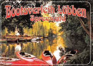 Bootsverleih Luebben Spreewald River Harbour Boats Bateaux