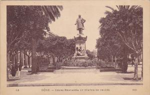 Algeria Bone Cours Bertagna et Statue de Thiers
