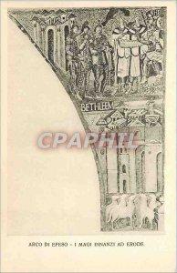 Postcard Old Arco di Efeso I Magi Innanzi ad Eroda