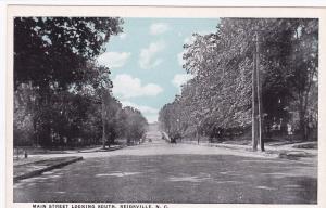 REIDSVILLE, North Carolina, 1910s; Main Street Looking South